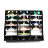 太陽鏡架子眼鏡展示盒 眼鏡收納盒櫃台展示架地攤擺放盒