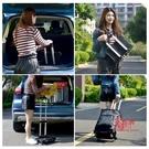購物車 買菜小拉車折疊便攜家用拉桿車購物車小推車老人家用手拉車行李車T