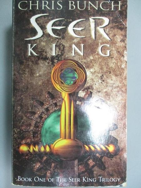 【書寶二手書T8/原文小說_NNW】The Seer King_Chris Bunch
