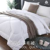 【BELLE VIE】台灣製造100%澳洲純小羊毛雙人冬被台製澳洲純羊毛被6x7