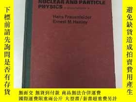 二手書博民逛書店nuclear罕見and particle physics(H4
