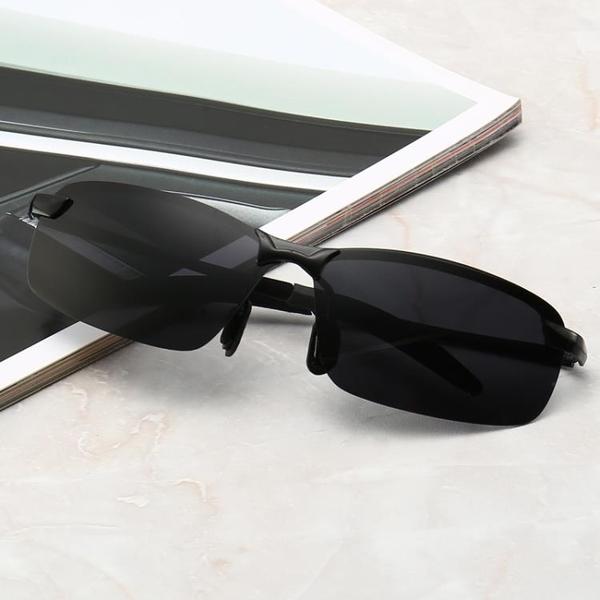 墨鏡 太陽眼鏡男開車防紫外線方形太陽鏡女潮偏光鏡男士駕駛鏡高清墨鏡  美物 99免運