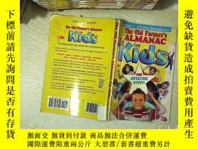 二手書博民逛書店The罕見old farmer s almanac for kids 老農兒童年鑒Y203004