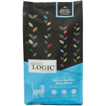 Natures Logic 自然邏輯 低敏天然糧 全貓沙丁魚配方 15.4磅