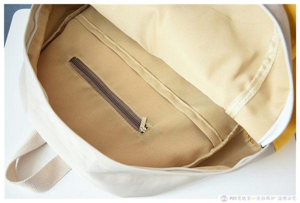 小清新學院風後背包 女韓版雙肩書包《印象精品》b1466