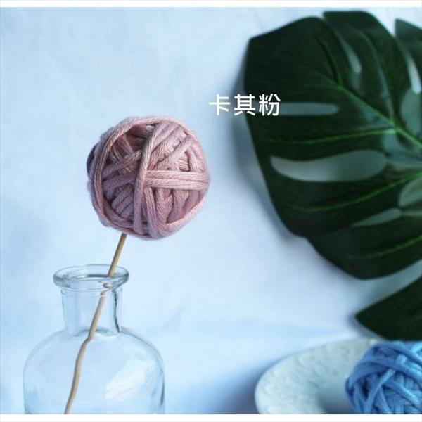 多色圓形毛線編織球 拍照/居家裝飾【B05003】