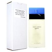 D&G 淺藍女性淡香水 100ml-Tester包裝