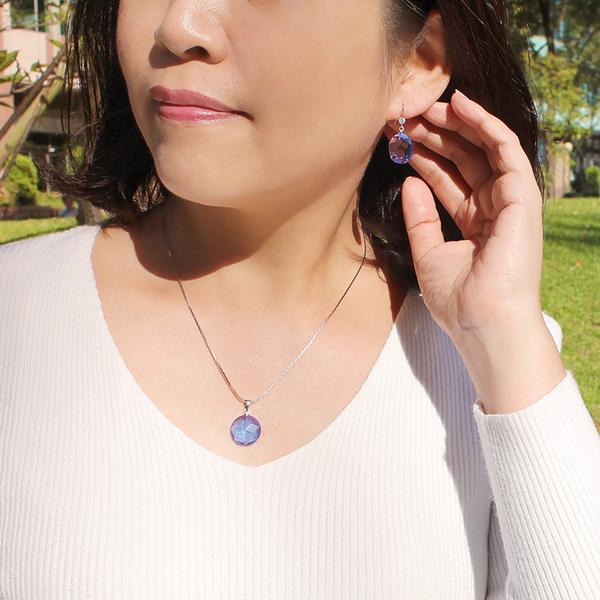 藍水晶套組-晶玉良緣 石頭記