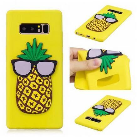【SZ15】三星note8手機殼 3D立體貼片卡通手機軟殼 S8Plus 全包防摔手機保護套