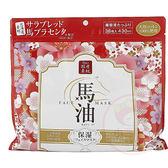 日本SPC 馬油櫻花保濕面膜(38枚入)【小三美日】