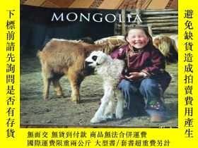 二手書博民逛書店MONGOLIA罕見truly nomadic【橫8開藝術畫冊】