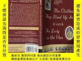 二手書博民逛書店The罕見Clothes They Stood Up In an