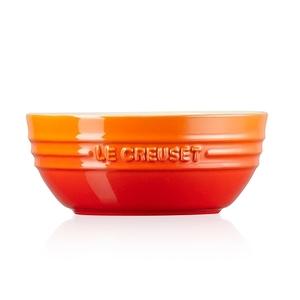 Le Creuset韓式湯碗-火焰橘