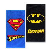 超人蝙蝠俠系列童巾 毛巾 擦汗巾 洗臉巾 DC漫畫