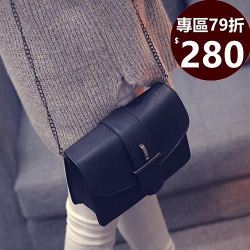 斜背包 韓劇同款包復古鍊條側背包 共四色 -寶來小舖-現貨販售-JB0199