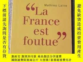 二手書博民逛書店La罕見France est foutueY21478 Math