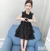 女童連身裙2019新款韓版夏裝超洋氣小女孩公主裙中大童裝兒童裙子夏季 PA6196『紅袖伊人』