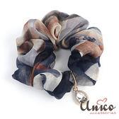 UNICO 巴黎清新渲染奧賽博物館靈感之髮圈/髮飾-夜色