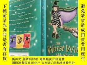 二手書博民逛書店the罕見Worst Witch All At Sea :海上最壞的女巫Y200392
