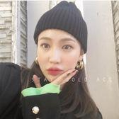 推薦s925銀針韓國ins百搭三層金屬三環耳圈開口法式冷淡風耳環歐歐流行館