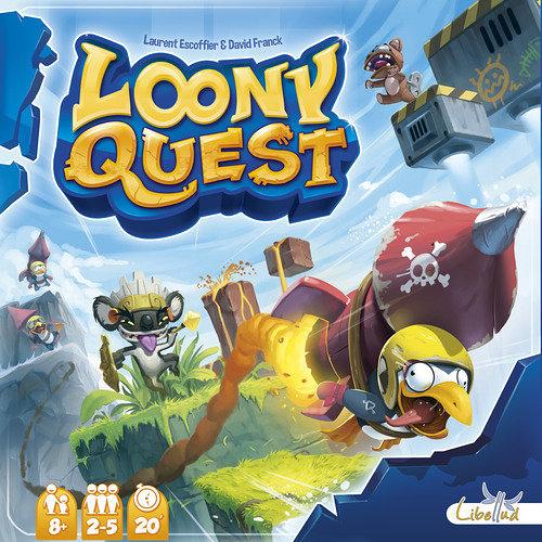 『高雄龐奇桌遊』 怪物仙境 Loony Quest 繁體中文版 瘋狂進擊 塗鴉任務 正版桌上遊戲專賣店