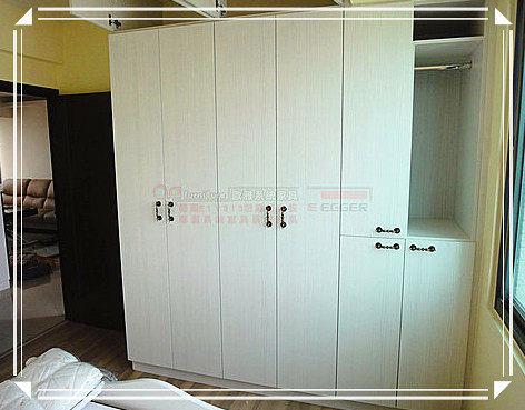 【系統家具】拉籃抽屜衣櫃 分格盒 系統衣櫃 顏色為白杉木