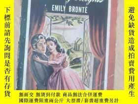 二手書博民逛書店1947年罕見外文原版 Wuthering Heights(呼嘯