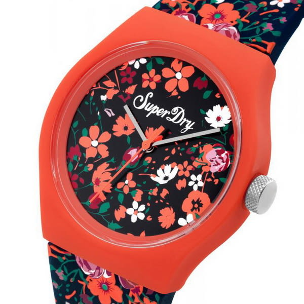 【台南 時代鐘錶 Superdry】極度乾燥 美式和風 文化衝擊潮流腕錶 SYL177UO 38mm