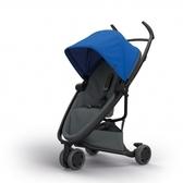 Quinny Zapp X FLEX 嬰兒手推車(三輪/獨立把手)-標準版(深藍篷深灰布)贈提籃+雨罩[衛立兒生活館]