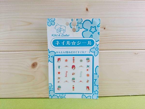 【震撼精品百貨】Little Twin Stars KiKi&LaLa 雙子星小天使~貼紙-藍