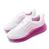 Nike Wmns Air Max 720 Pink Rise 慢跑鞋 白 粉紅 大氣墊 運動鞋 女鞋【PUMP306】 AR9293-103