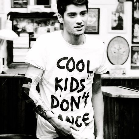 COOL KIDS DONT DANCE短袖T恤-2色 Zayn同款一世代One Direction 1D t 390