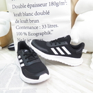 Adidas TENSAUR RUN K 女款 大童 慢跑鞋 運動鞋 EG4128 黑【iSport愛運動】
