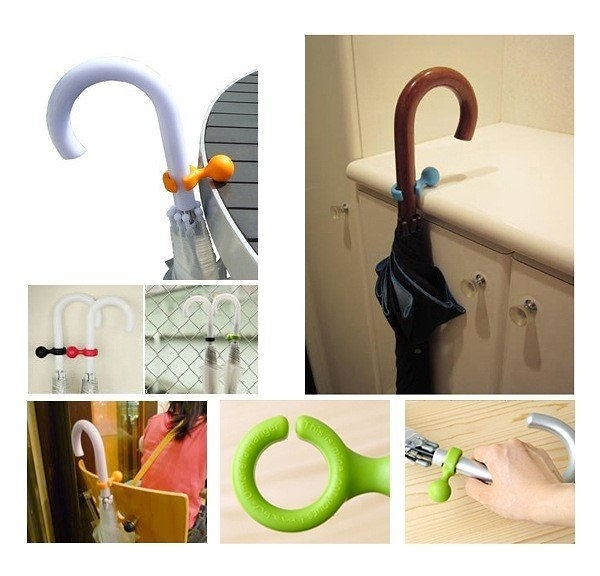 【傘粒支架】雨傘專用固定 雨傘支架 輕便多用途 傘立 傘粒 掛勾 手機架 多功能支架