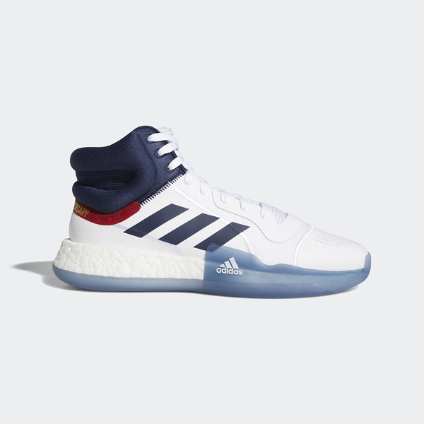 ADIDAS Marquee Boost [EH2451] 男鞋 運動 籃球 休閒 避震 透氣 愛迪達 白 深藍