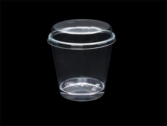 10入 170cc 慕斯奶酪杯 大圓杯 布丁杯布蕾甜點  附蓋  G7770