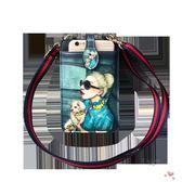 店慶優惠兩天-卡通可愛拉鏈手機包女單肩斜挎包正韓潮掛脖手機袋零錢包迷你小包