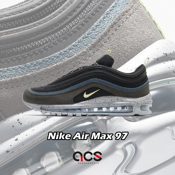 Nike 休閒鞋 Air Max 97 黑 灰 男鞋 女鞋 經典款 反光 簡約 運動鞋【ACS】 DB4611-001