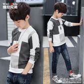 男童裝長袖t恤兒童打底衫秋裝中大童男孩小孩上衣韓版潮 街頭布衣