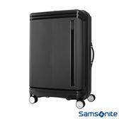 Samsonite新秀麗 28吋Hartlan 高質感防潑水PP飛機輪TSA行李箱(黑)