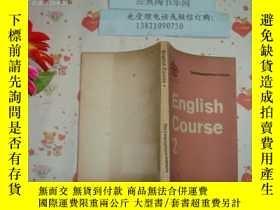 二手書博民逛書店內發英文版《english罕見course 2》文泉英語類504