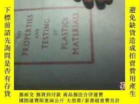 二手書博民逛書店THE罕見PROPERTIES AND TESTING OF P