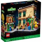 樂高積木 LEGO《 LT21324 》IDEAS 系列 - 123芝麻街 / JOYBUS玩具百貨
