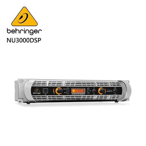 BEHRINGER NU1000DSP專業PA喇叭功率擴大機(1000瓦/DSP控制/USB接口)