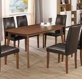 【新北大】✪ B435-1 賽維爾5尺餐桌(不含餐椅)-18購