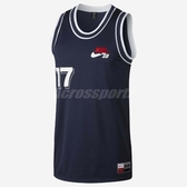 Nike 球衣 SB Jersey Court 男款 滑板 背心 運動衣 無袖 上衣 深藍 【PUMP306】 882852-451
