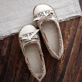 原宿風大頭娃娃鞋女鞋平底鞋羅馬涼鞋文藝復古森女鞋吾本良品