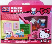 【震撼  】Hello Kitty 凱蒂貓Sanrio HELLO KITTY 積木系列KT 科學實驗室10892