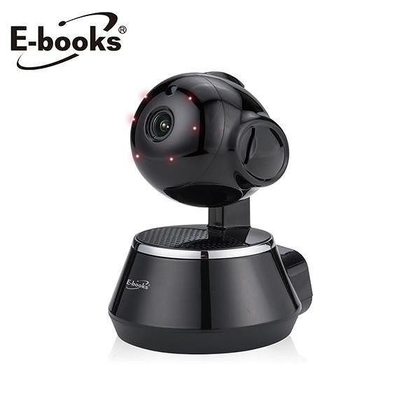 【南紡購物中心】E-books W12 遠端遙控高畫質HD夜視旋轉無線網路攝影機