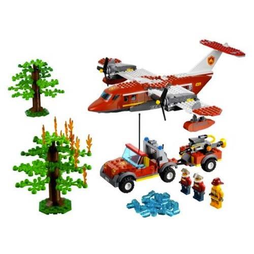 LEGO樂高 City 城市系列 消防飛機陸空救援組_LG4209